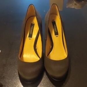 Zara Basic Collection Size 6 Black Heels